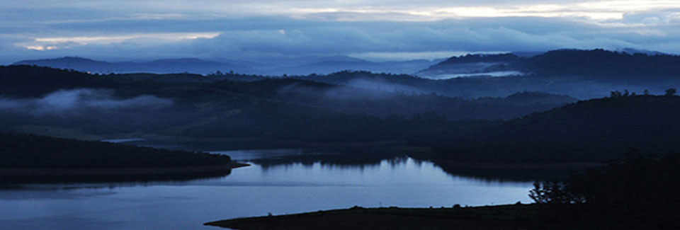Gaze over the blue mountains of the Nilgiris