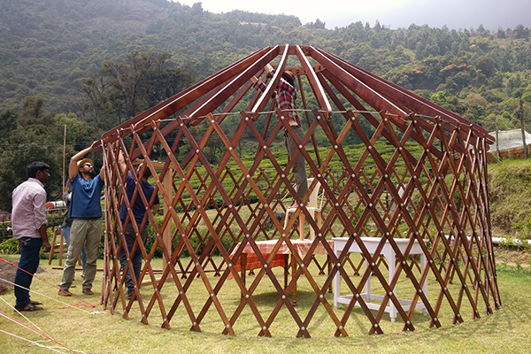 Yurts at Red Hills